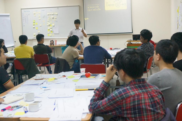 lớp đào tạo scrum của học viện agile tại hà nội