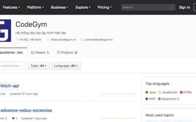 Bộ mã nguồn bài tập của CodeGym