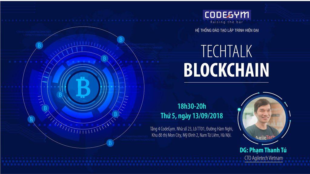 hoi thao blockchain, hội thảo blockchain
