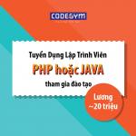 CodeGym Đà Nẵng tuyển dụng giảng viên JAVA/PHP