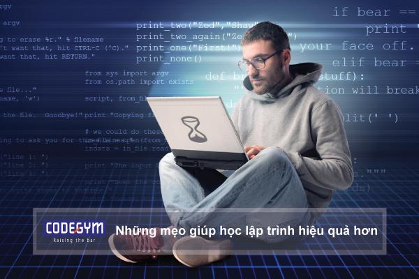 Những mẹo giúp học lập trình hiệu quả hơn