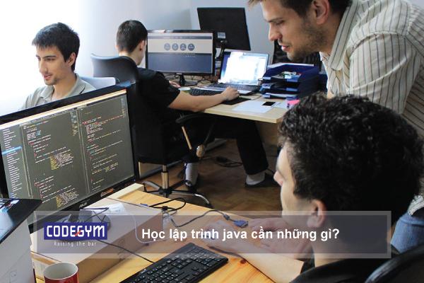 Học lập trình java cần những gì?