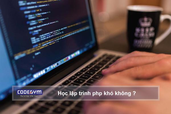 Học lập trình php khó không?