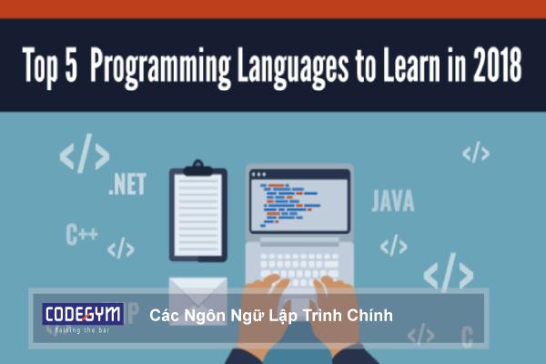 Đây là những ngôn ngữ lập trình web chính trong website mà các lập trình viên phải nắm rõ và hiểu ngôn ngữ lập trình