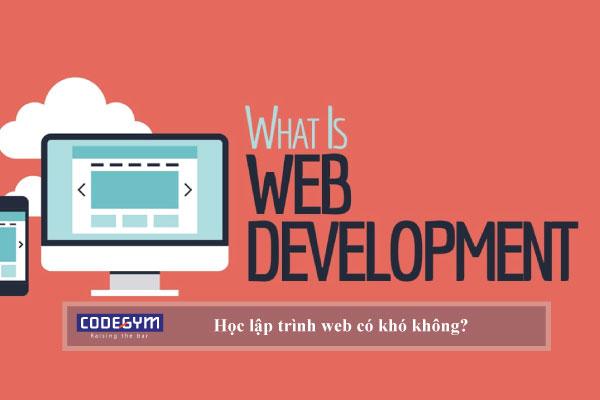 Học lập trình web có khó không?