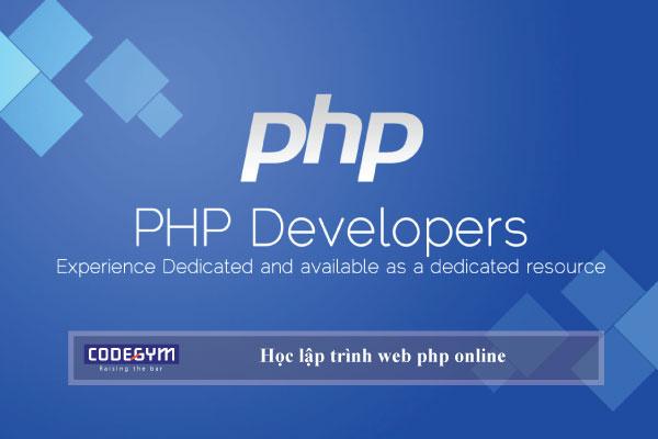 Những điều bạn cần lưu ý khi học lập trình web php online