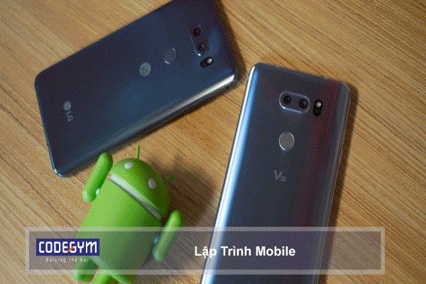 Lập Trình Viên sẽ viết phần mềm chạy trên các điện thoại thông minh phổ biến như android và IOS