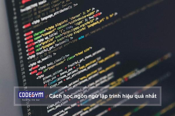 Cách học ngôn ngữ lập trình hiệu quả nhất