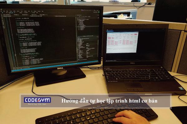 Hướng dẫn tự học lập trình html cơ bản bắt đầu từ đâu