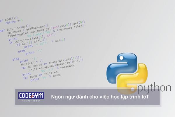 Những ngôn ngữ dành cho việc học lập trình IoT