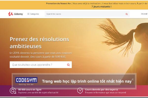 Trang web học lập trình online tốt nhất hiện nay