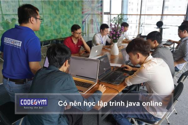 Có nên học lập trình java online hay không?