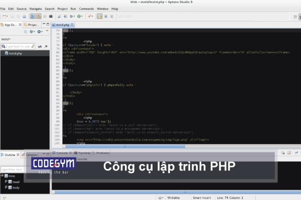 Công cụ lập trình PHP tốt nhất cho các nhà lập trình