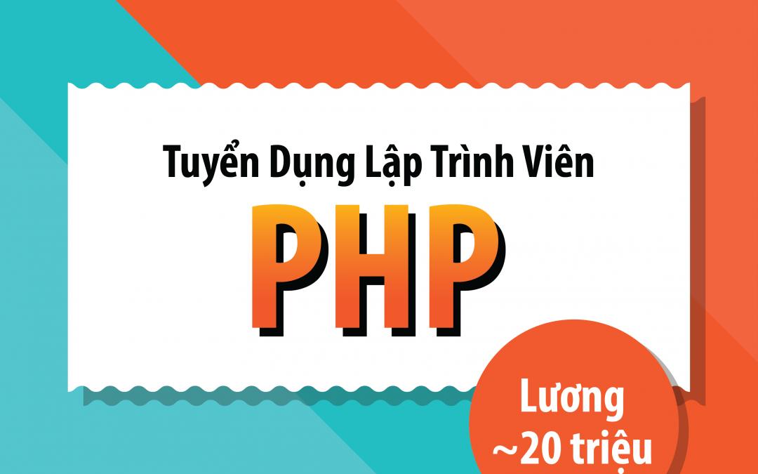 CodeGym tuyển dụng Lập trình viên PHP