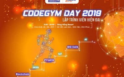 CodeGym Day 2019: Sự kiện lớn nhất năm của Cộng đồng CodeGym