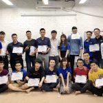 Bế giảng và trao bằng tốt nghiệp cho học viên lớp C0219I1 và C0219G1