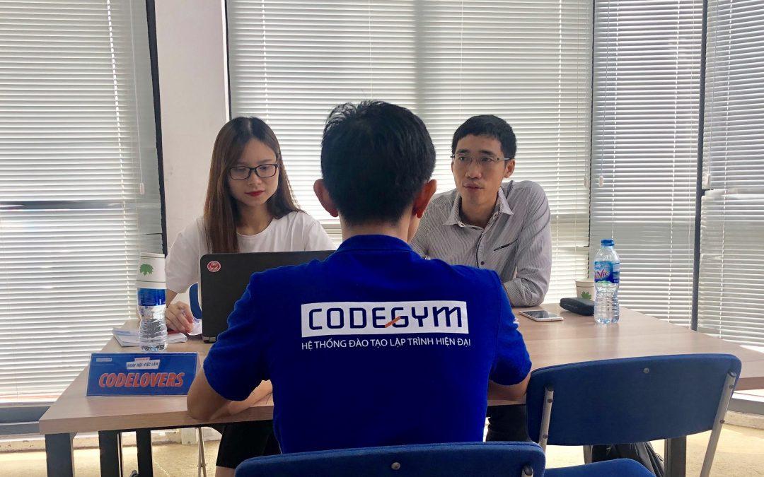Hiring Day dành cho lớp C0219G1 – học viên PHP tại CodeGym