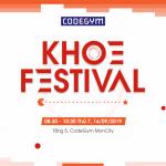Cuộc thi KHOE Festival dành cho cộng đồng CodeGym