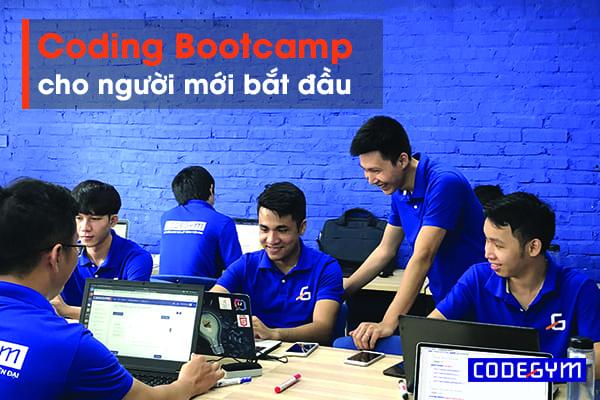 Coding Bootcamp cho người mới bắt đầu
