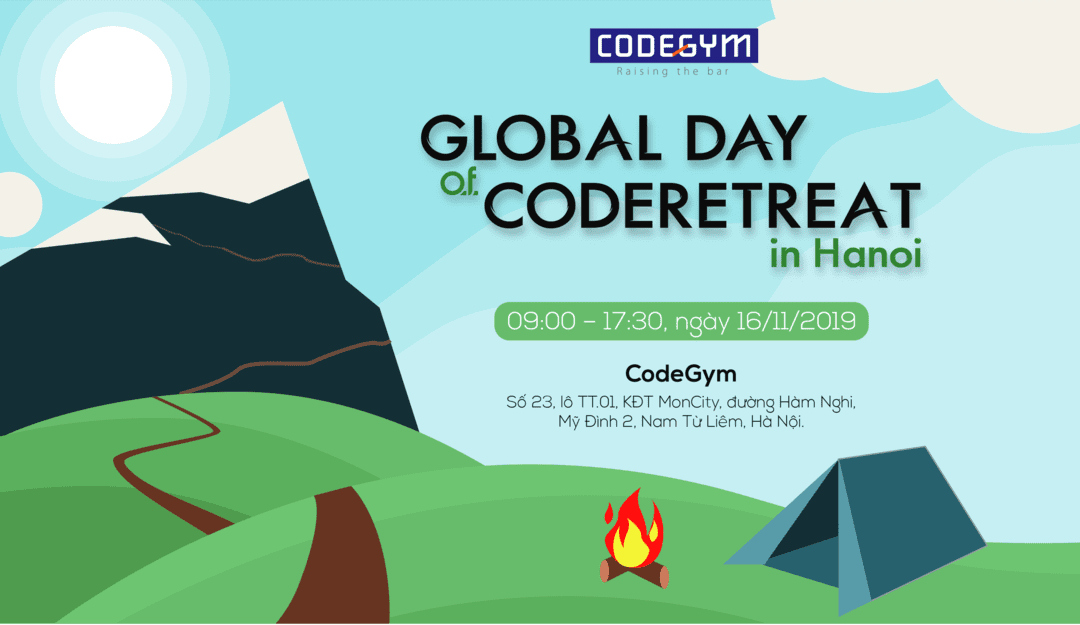 Global Day of Coderetreat in Hanoi: Coderetreat lần thứ 3 tại Hà Nội