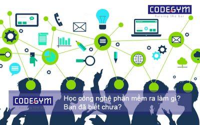 Học công nghệ phần mềm ra làm gì? Bạn đã biết chưa?