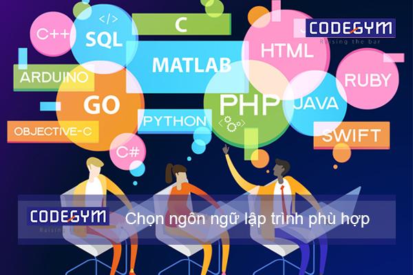 Học lập trình nên học ngôn ngữ nào