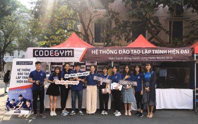 CodeGym tại Hello World 2019, Khoa CNTT – Đại học Hà Nội