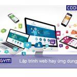 Nên học lập trình web hay ứng dụng di động?