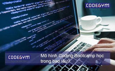 Mô hình Coding Bootcamp học trong bao lâu?