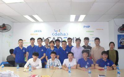 Chuyến thăm doanh nghiệp DEHA Software của học viên CodeGym