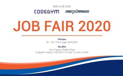 Ngày hội việc làm – CodeGym Job Fair 2020