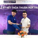 CodeGym và TECHVIFY ký kết thỏa thuận hợp tác đào tạo, tuyển dụng