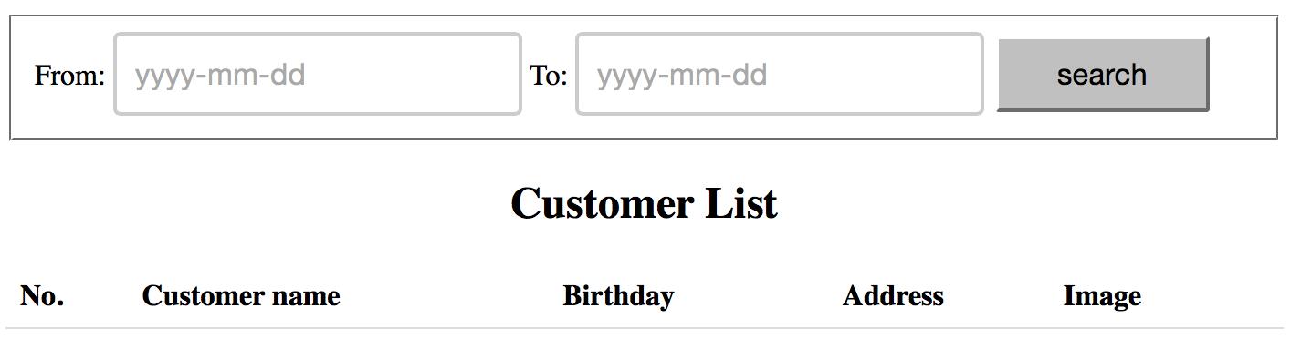 Lọc danh sách khách hàng