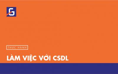 [Thực hành] Làm việc với CSDL- Codegym.vn