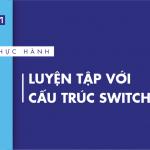 [Thực hành] Luyện tập với cấu trúc switch-case