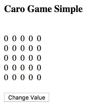 Tạo bàn cờ caro đơn giản