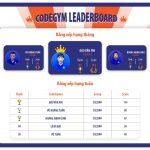 Top 3 CodeGym Leaderboard tháng 3/2020 đã chính thức lộ diện