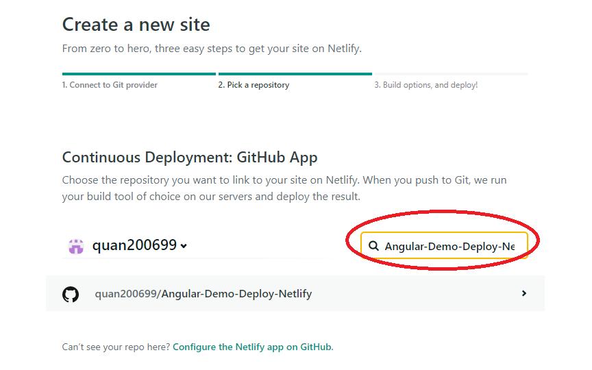 deploy angular lên netlify