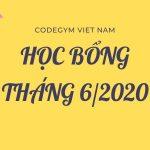 Chương trình học bổng – ưu đãi tháng 6/2020 tại CodeGym Hà Nội