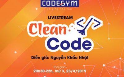 [Slide] Clean code – Trở thành một lập trình viên tốt hơn