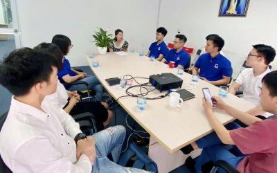 Học viên CodeGym tham quan môi trường doanh nghiệp, tiếp cận việc làm tại Softdream