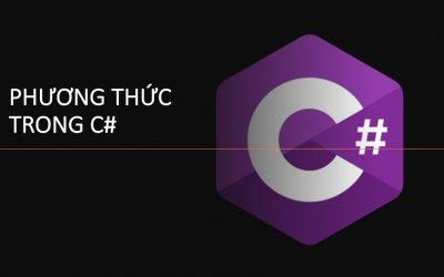 Phương thức trong C#