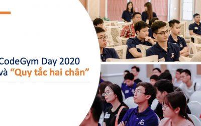 CodeGym Day 2020 và 'Quy tắc hai chân'