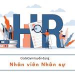 CodeGym Hà Nội tuyển dụng Nhân viên Nhân sự