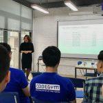 Học viên PHP CodeGym Hà Nội tự tin phỏng vấn tại Interview Day