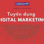 Việc ngon năm mới: CodeGym tuyển Digital Marketing, lương 16-20 triệu