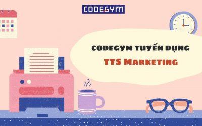 CodeGym tuyển dụng TTS Marketing làm việc tại Huế