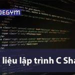 Giới thiệu bộ 3 tài liệu lập trình C sharp tiếng Việt (PDF)