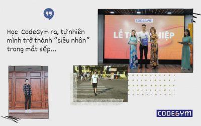 """Học ở CodeGym ra, tự nhiên mình trở thành """"siêu nhân"""" trong mắt sếp… – Nguyễn Trung Hiếu, CHV CodeGym"""