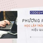 Phương pháp học lập trình web trực tuyến hiệu quả